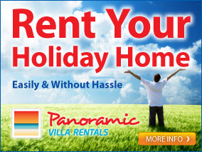 Rent Your Holiday Home Easily and Without Hassle. Visit PanoramicVillas.com for more details